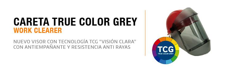 Careta Arco Electrico TrueColorGray